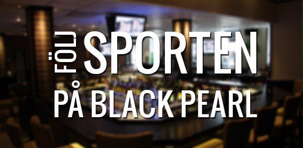 Följ sporten på Black pearl bar Kungsbacka